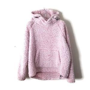 PINK Victoria's Secret Hoodie warm sz Small